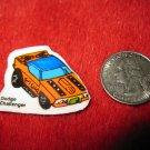 1980's Matchbox Off Road 4x4's Refrigerator Magnet: Dodge Challenger