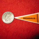 198o's NFL Football Pennant Refrigerator Magnet: Bengals
