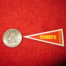 198o's NFL Football Pennant Refrigerator Magnet: Chiefs