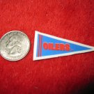 198o's NFL Football Pennant Refrigerator Magnet: Oilers