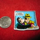 1990 Dick Tracy Movie Refrigerator Magnet: Tracy in Action hitting Big Boy