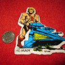 1980's Masters of the Universe Refrigerator Magnet: He-Man