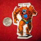 "1980's Masters of the Universe Refrigerator Magnet: Beast Man - misprinted ""Best Man"""