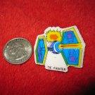 1980's Star Wars Refrigerator Magnet: Tie Fighter