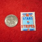 1970's American USA Refrigerator Magnet: Stars & Stripes
