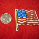 1970's American USA Refrigerator Magnet: Flag on Pole #3