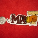 1980's Mr. T Cartoon TV Show Refrigerator Magnet: Logo