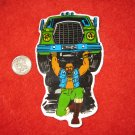 1980's Mr. T Cartoon TV Show Refrigerator Magnet: Lifting Truck - Oversized