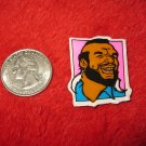 1980's Mr. T Cartoon TV Show Refrigerator Magnet: Head shot, Pink Background