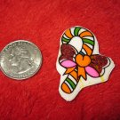1970's Christmas Themed Refrigerator Magnet: Candy Cane