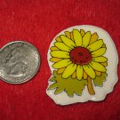 1980's Cartoon Flowers Series Refrigerator Magnet: #3