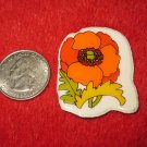 1980's Cartoon Flowers Series Refrigerator Magnet: #5