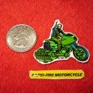 1982 G.I. Joe Cartoon Series Refrigerator Magnet: Rapid-Fire Motorcycle w/ Label
