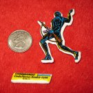 1982 G.I. Joe Cartoon Series Refrigerator Magnet: Commando Snake Eyes w/ Label