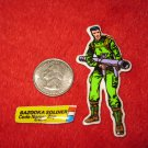 1982 G.I. Joe Cartoon Series Refrigerator Magnet: Bazooka Soldier Zap w/ Label