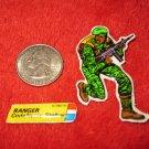 1982 G.I. Joe Cartoon Series Refrigerator Magnet: Ranger Stalker w/ Label