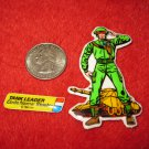 1982 G.I. Joe Cartoon Series Refrigerator Magnet: Tank Leader Steeler w/ Label