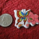 1980's Cartoon Rainbow Butterflies Series Refrigerator Magnet: #1