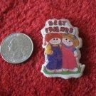 1983 Cabbage Patch Kids Series Refrigerator Magnet: Best Friends