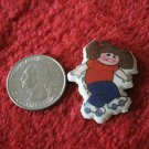 1983 Cabbage Patch Kids Series Refrigerator Magnet: Girl on Roller Skates