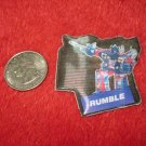 1984 Transformers Hologram Series Refrigerator Magnet: Rumble