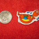 1980's Cartoon Animals Series Refrigerator Magnet: Turtle