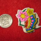 1980's Cartoon Rainbow Butterflies Series Refrigerator Magnet: #5