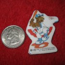 1987 ALF Cartoon Series Refrigerator Magnet: Baseball Player