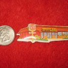 1970's Restaurant Series Refrigerator Magnet: Burger King