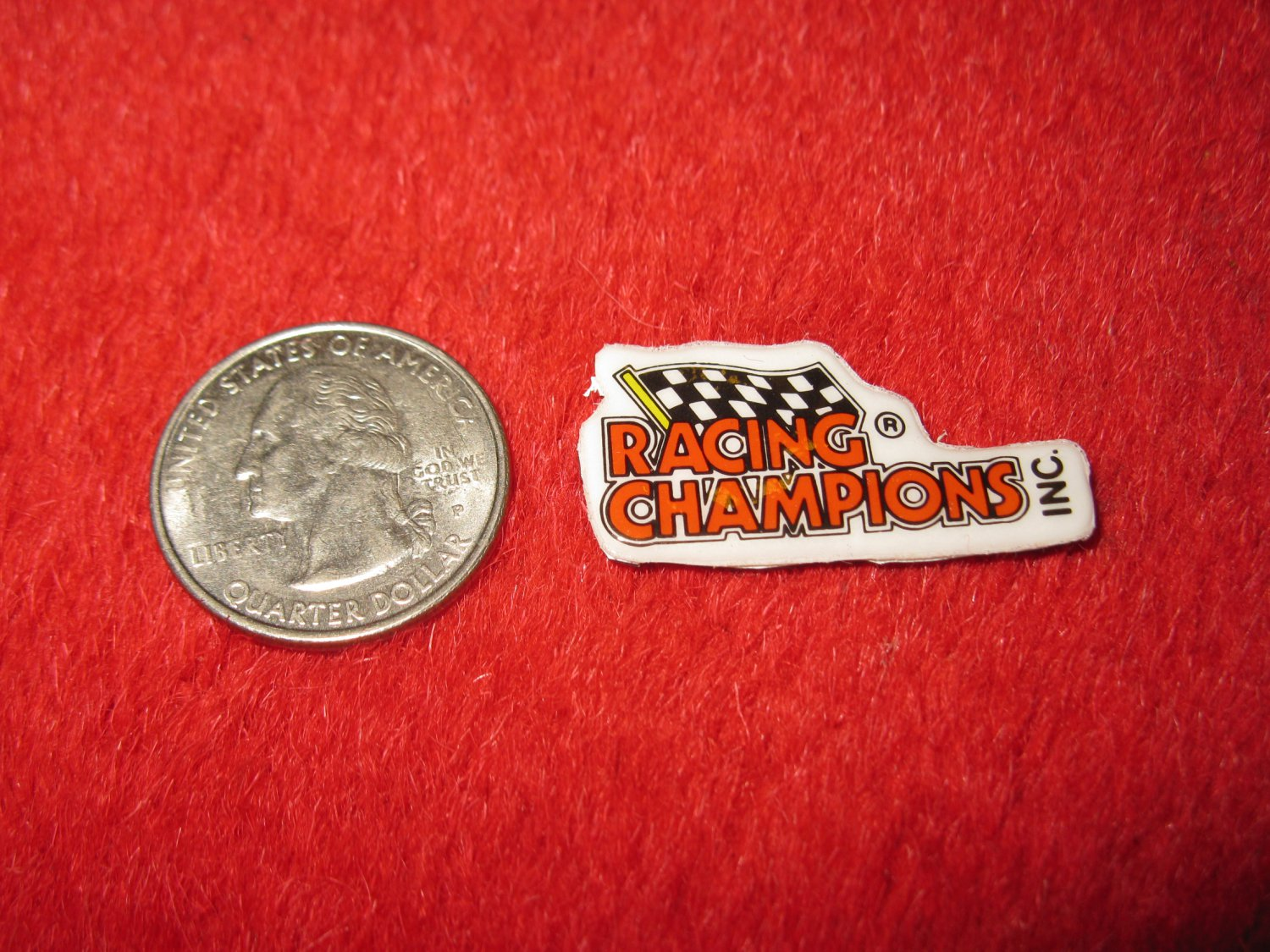 1980's Racing Series Refrigerator Magnet: Racing Champions Logo