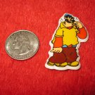 1980's Popeye Cartoon Series Refrigerator Magnet: Brutus