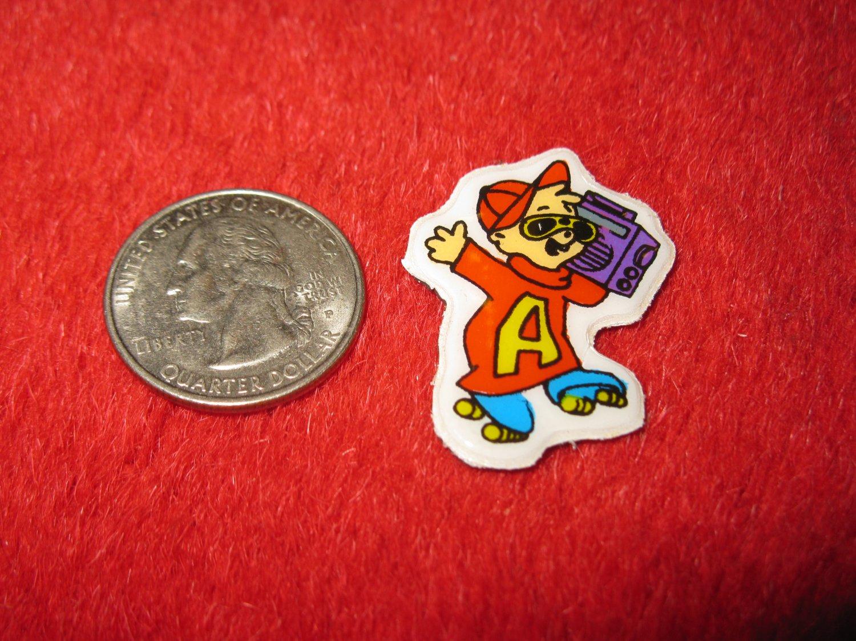 1980's Cartoon Series Refrigerator Magnet: Chipmunks , Alvin