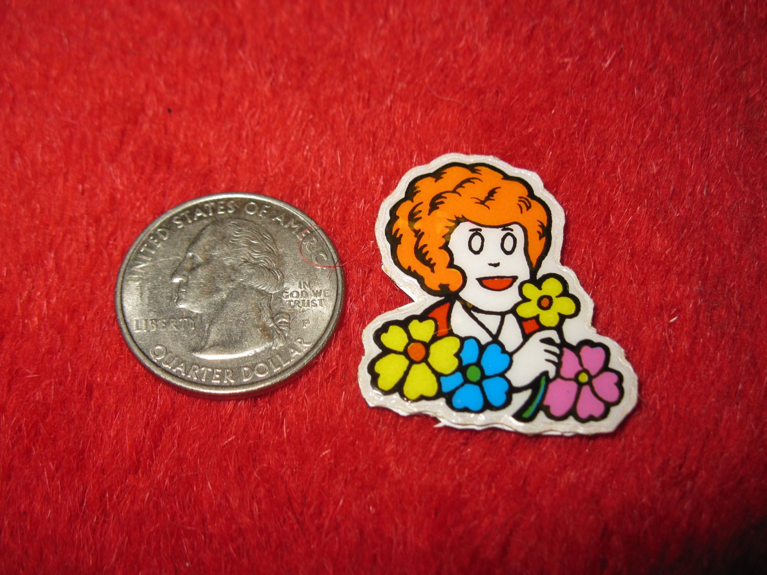 1980's Cartoon Series Refrigerator Magnet: Annie #2