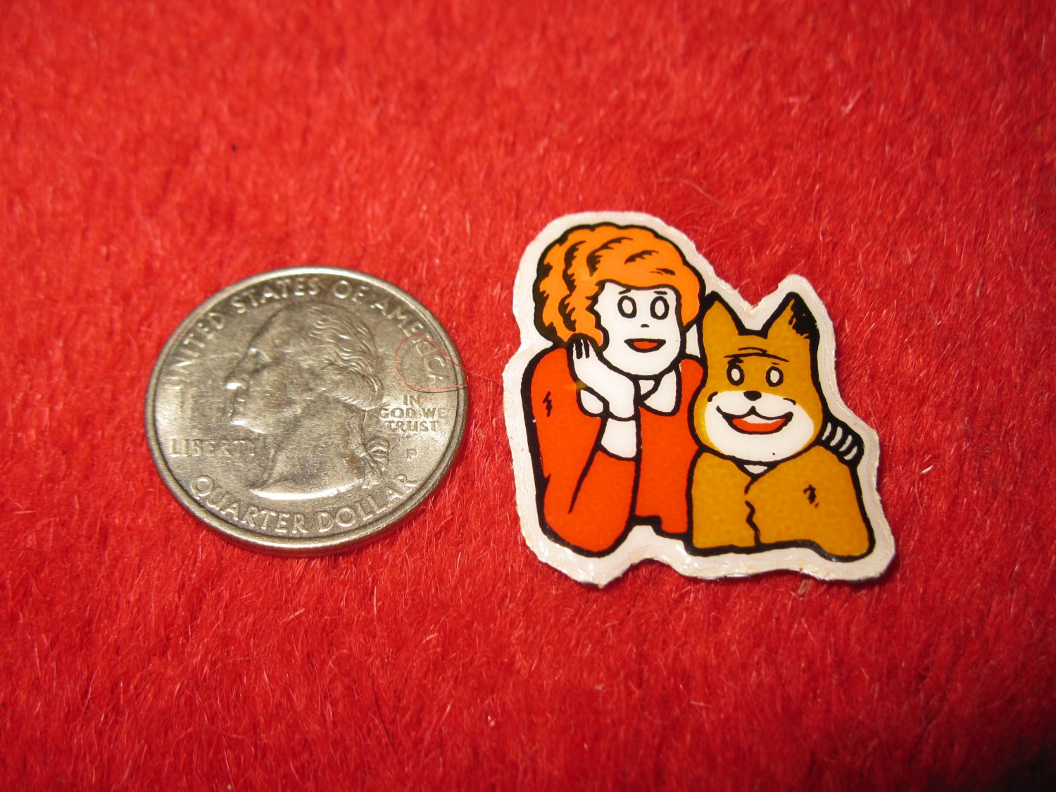 1980's Cartoon Series Refrigerator Magnet: Annie #3