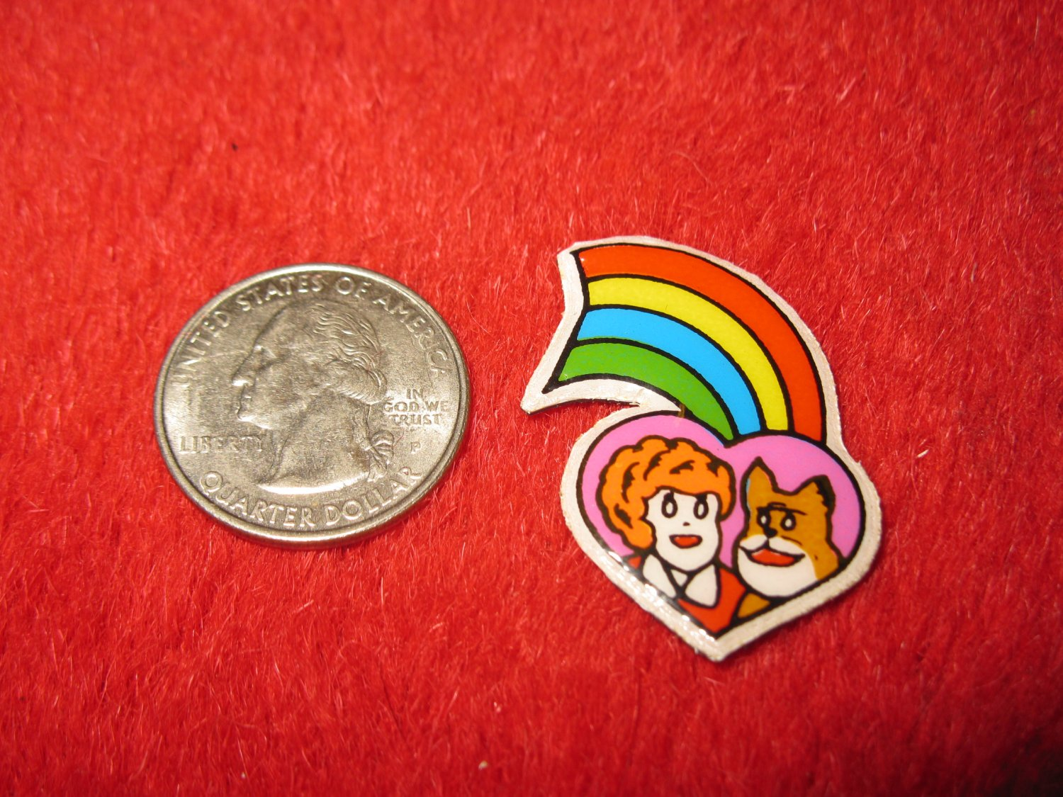 1980's Cartoon Series Refrigerator Magnet: Annie #4