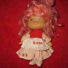 1980's PInk Strawberry Shortcake TYPE doll, same size, no brand marker..??