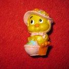 "1979 W. Berrie Easter Figure: 2"" Duckling"