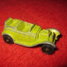 1960's ? Tootsietoy mini Die Cast Car: Roadster, green paint