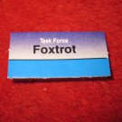 1988 The Hunt for Red October Board Game Piece: FOXTROT Blue Ship Tab- NATO