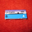 1988 The Hunt for Red October Board Game Piece: Los Angeles Blue Ship Tab- NATO