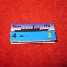 1988 The Hunt for Red October Board Game Piece: Perry Blue Ship Tab- NATO