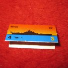 1988 The Hunt for Red October Board Game Piece: Minsk Red Ship Tab- Soviet