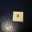 1980 TSR D&D: Dungeon Board Game Piece: #8 Square Marker