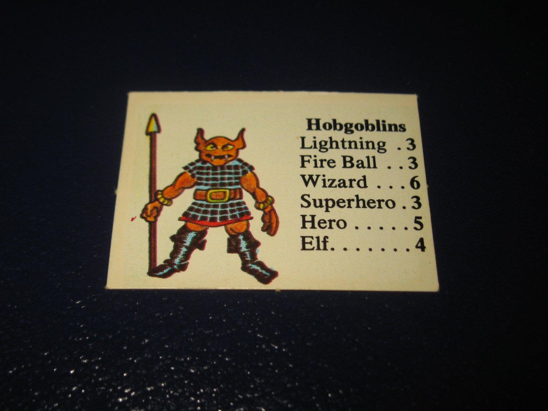 1980 TSR D&D: Dungeon Board Game Piece: Monster 1st Level - Hobgoblins