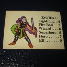 1980 TSR D&D: Dungeon Board Game Piece: Monster 2nd Level - Evil Hero