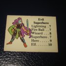 1980 TSR D&D: Dungeon Board Game Piece: Monster 4th Level - Evil Superhero