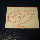 1980 TSR D&D: Dungeon Board Game Piece: Spell - Fire Ball
