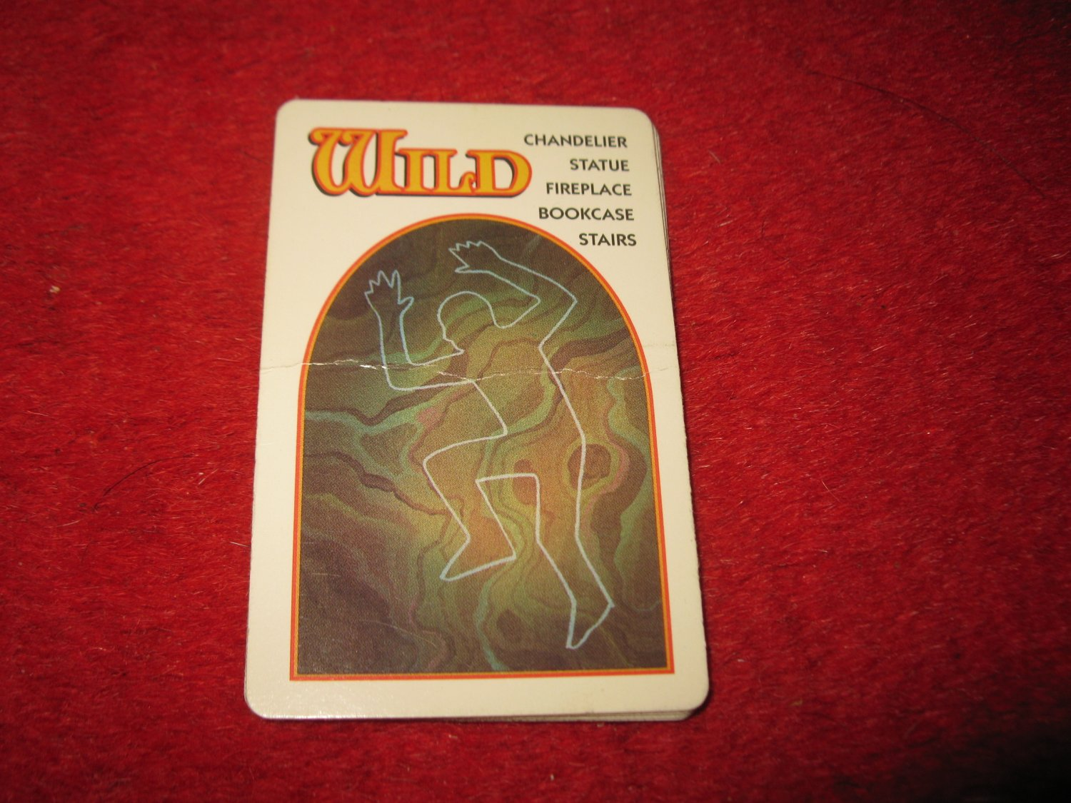 1993 - 13 Dead End Drive Board Game Piece: Wild Trap Card