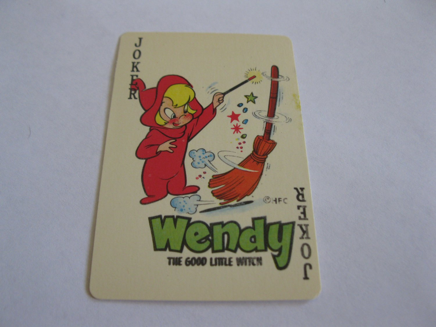 1960's Harvey Comics Edu-Card: Wendy, The Good LIttle Witch