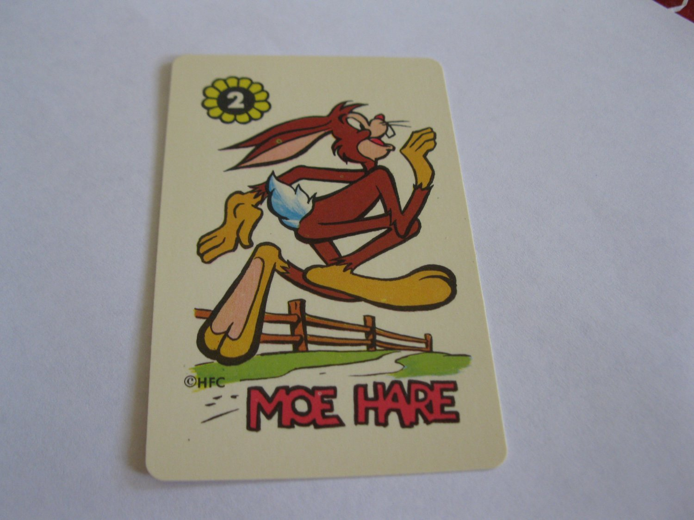 1960's Harvey Comics Edu-Card: Moe Hare